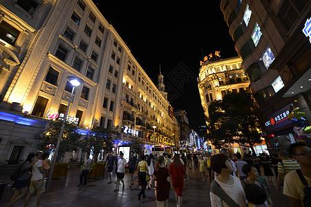 上海商业街图片