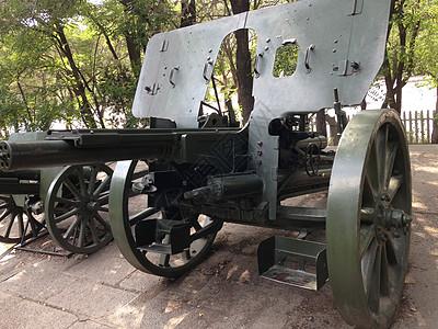 迫击炮正面特写图片