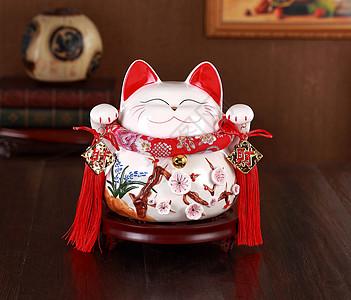陶瓷摆件猫咪图片
