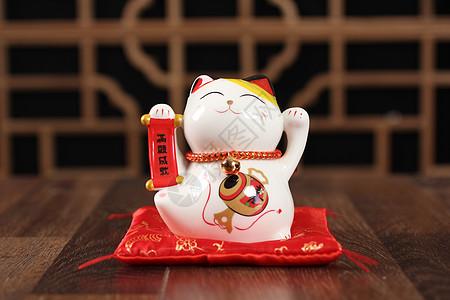 陶瓷摆件小猫咪图片