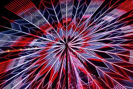夜幕中的南昌之星图片