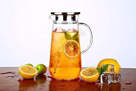 耐热玻璃茶壶图片