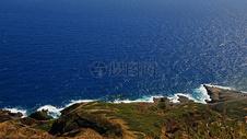 海边的礁石图片