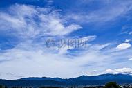 晴朗的蓝天图片