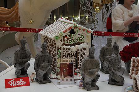 圣诞蛋糕房图片