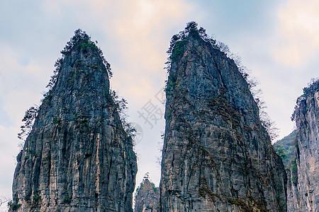 前童浙东大峡谷山峰山水峭壁图片