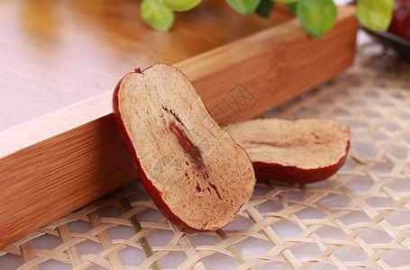 切开的红枣图片