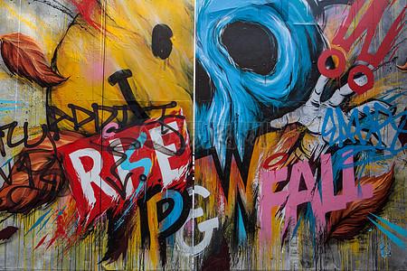 街头涂鸦艺术图片