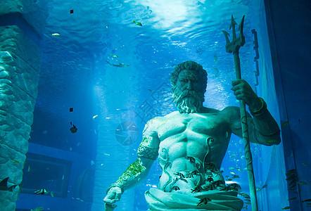 海神雕像图片