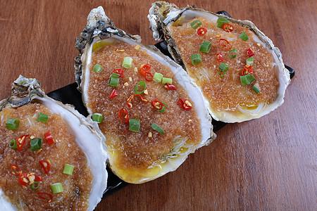 碳烤生蚝 生蚝 湛江 烧烤 辣椒 烧烤 撸串 菜谱 美食 美味 高清大图图片
