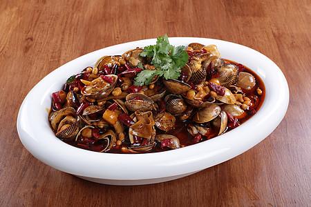 辣炒杂贝 烧烤 辣椒 烧烤 撸串 菜谱 美食 美味 高清大图图片