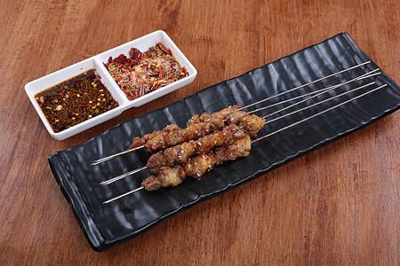 烤羊肉串 羊肉串 烧烤调料 干料 水料 调料 辣椒 烧烤 撸串 菜谱 美食 美味 高清 大图图片