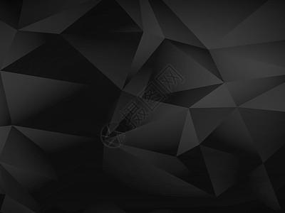 黑色几何背景图图片