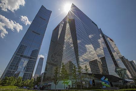 城市金融中心图片