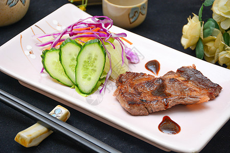 日式牛排图片