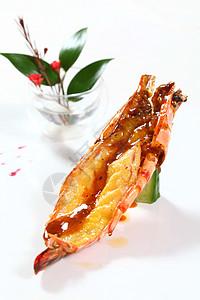 煎封野生虎虾图片