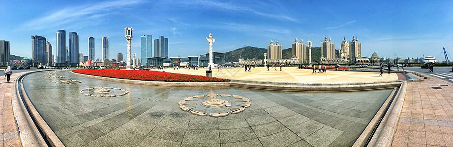 星海广场全景图片