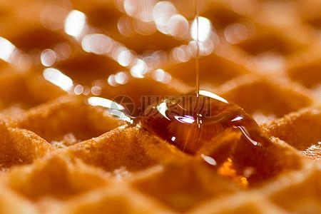 甜滋滋的蜜汁图片