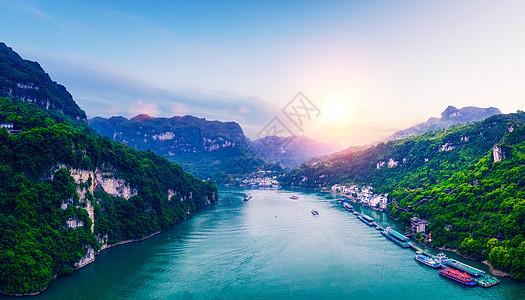 万州三峡库区风光图片