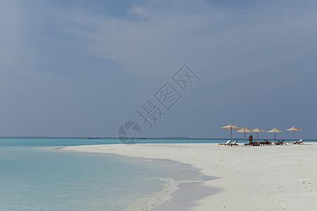 马尔代夫沙滩图片
