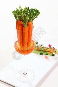 泡汤手指萝卜图片