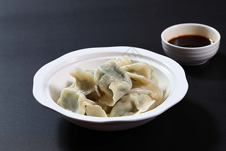 素三鲜水饺图片