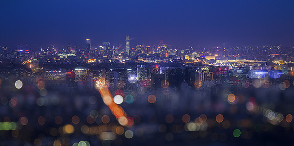 梦幻夜幕下的京城picture