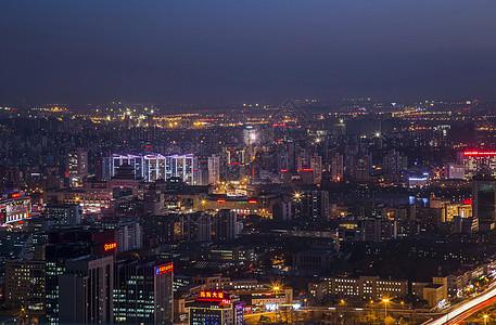夜幕下的京城图片
