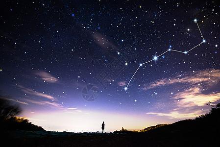 奇幻星空摄影图片免费下载_自然/风景图库大全_编号