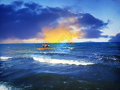 连岛海岸图片