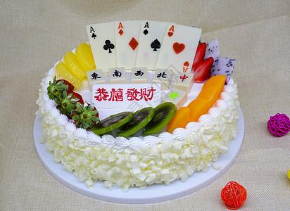 18岁成年礼蛋糕图片