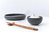 黑芝麻米饭蒸米饭图片