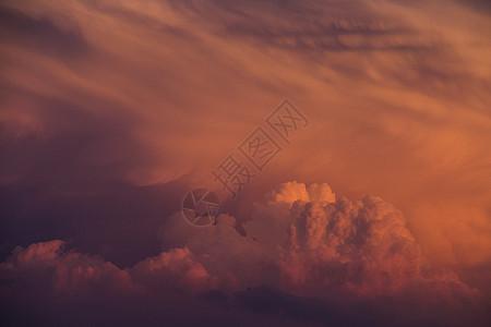 云之色彩 火烧云图片