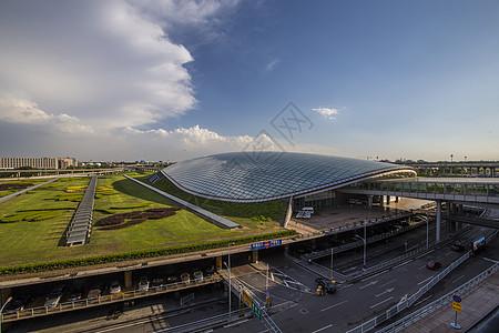 首都机场的外景图片