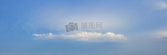 蓝天白云自然风光图片