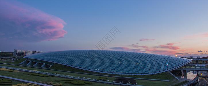 首都机场的奇景图片
