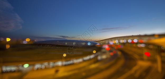 梦幻的首都机场图片