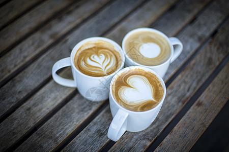 拿铁咖啡图片