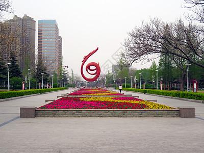 濮阳中心广场图片