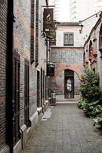 老上海的石库门图片