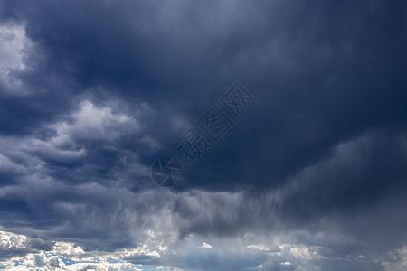乌云密布图片