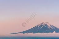 富士清晨图片