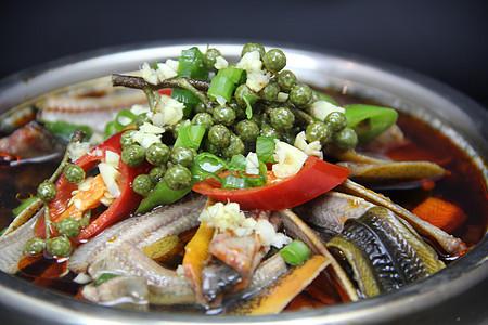 石锅鲜花椒鳝片图片