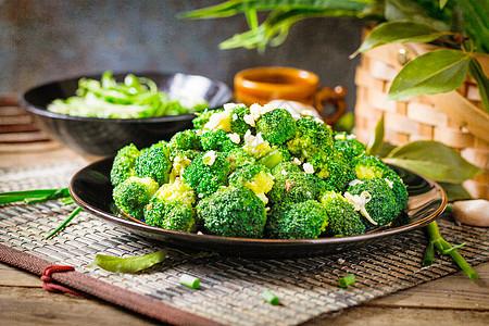 有机干锅花菜图片