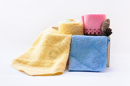 毛巾摆拍图片
