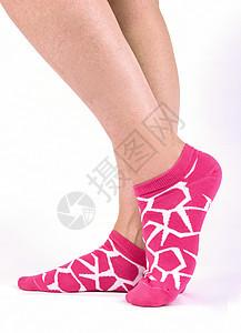 女士休闲袜子图片