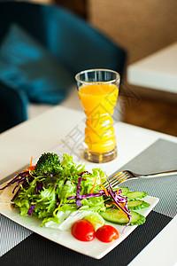 沙拉果汁图片