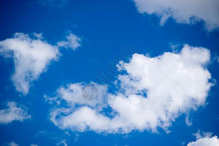蓝天白云棉花糖图片