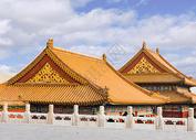 北京故宫屋顶图片