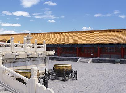 故宫白色建筑   日晷图片